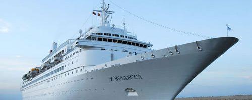 Cruiseschip Boudicca - Fred Olsen Cruise Lines