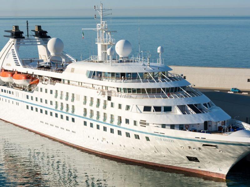 Cruiseschip Star BREEZE - Windstar Cruises