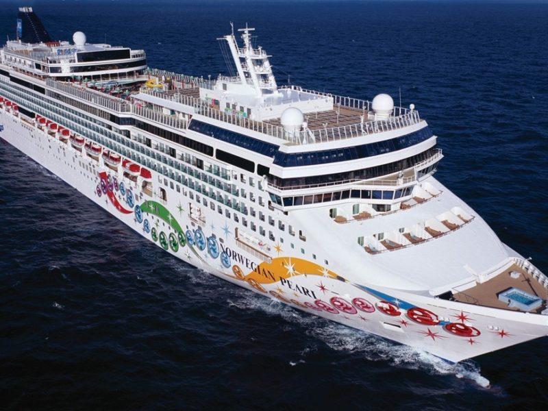 Cruiseschip Norwegian Pearl - Norwegian Cruise Line