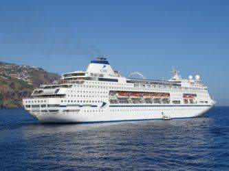 Columbus terug van wereld cruise