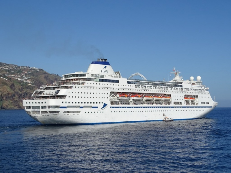 Cruiseschip Columbus - Cruise & Maritime Voyages