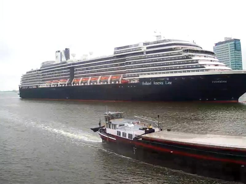 Cruiseschip Zuiderdam - Holland America Line
