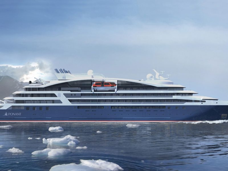 Cruiseschip Le Bellot - Ponant Cruises