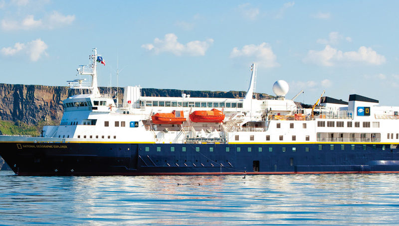 Cruiseschip National Geographic Explorer - Lindblad Expeditions