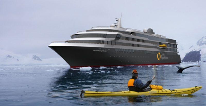 Cruiseschip World Explorer - Mystic Cruises
