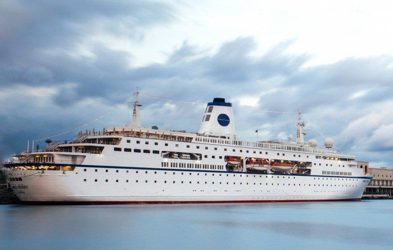 Cruiseschip World Odyssey - Bohm and Voss Germany