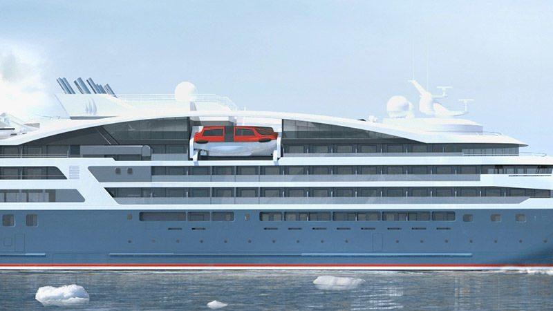Cruiseschip Automatische concepten -