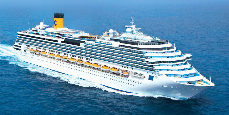 Cruiseschip Costa Favolosa - Costa Cruises