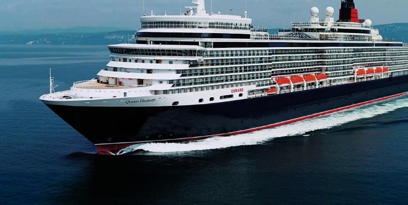Cruiseschip Queen Elizabeth - Carnival Cruise Lines