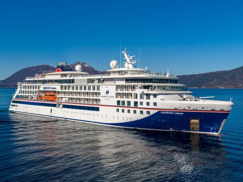 Cruiseschip Hanseatic Nature - Hapag-Lloyd Cruises