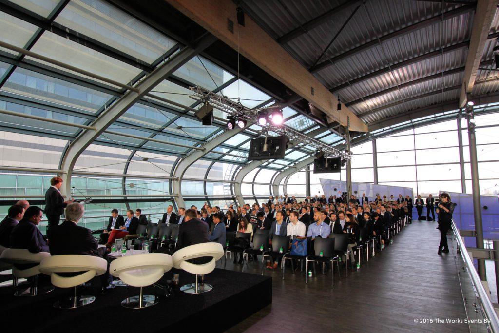 Congres Passenger Terminal Amsterdam Panorama deck